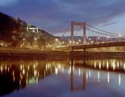 Photo of the Danube and Elizabeth bridge in Budapest