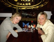Photo of two blonde local Riga guides