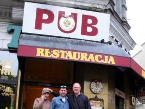 Pub in Krakow exterior