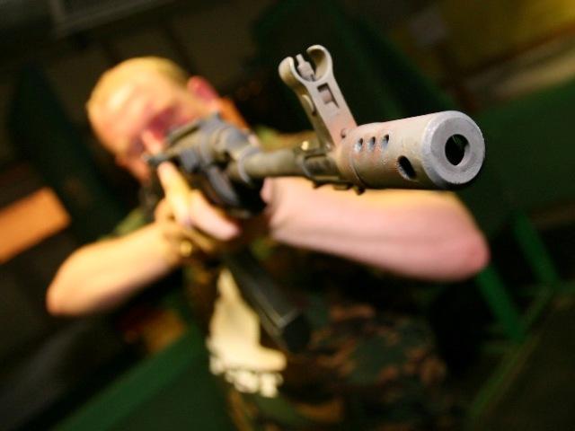 Stag shooting