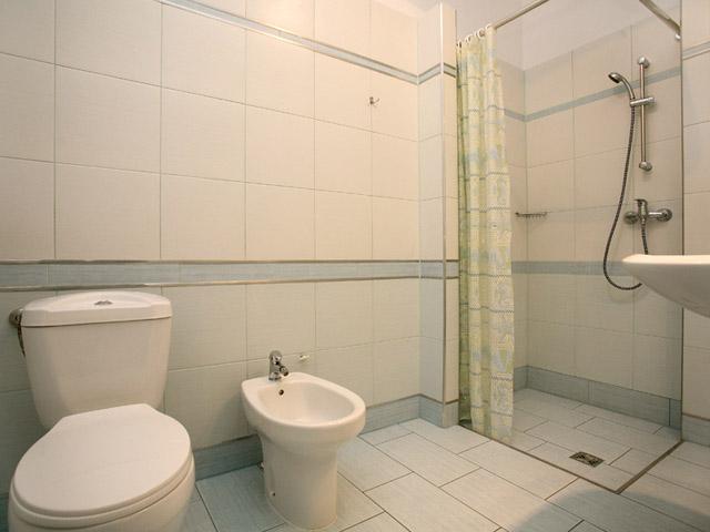 Photo of full bathroom in two star Krakow apartment