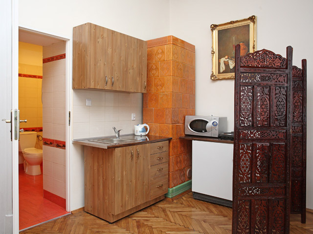 Photo of kitchen in two star Krakow apartments
