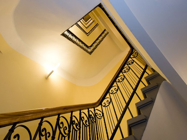 Photo of gorgeous stairwell in 3 star Riga hotel