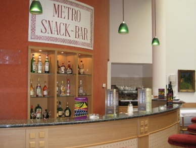 Photo of snack and drinks bar in 4 star Budapest hotel