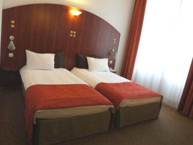 Bedroom in 4 star hotel
