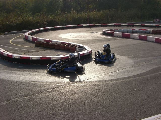 Photo of outdoor go karting track