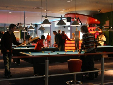 Billiards, darts and other entertainment available on premises