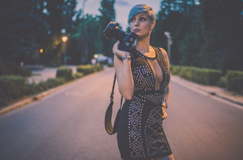 Sexy photographer in Budapest