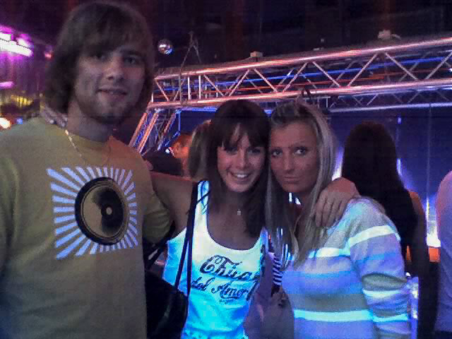 Riga nightclub with local girls