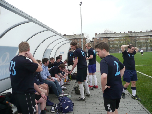 Frinedly Football in Budapest