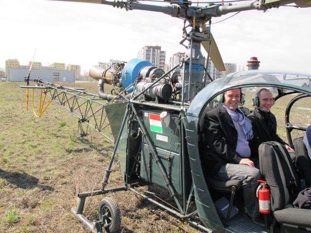 Budapest helicopter ride