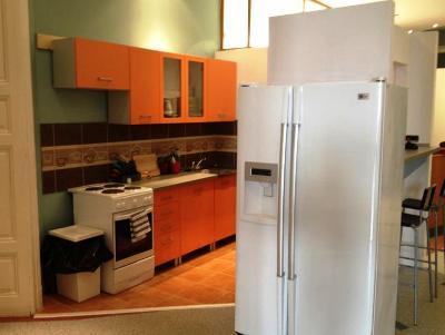 Photo of kitchen in Budapest hostel