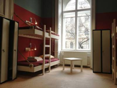 Room with two beds Budapest hostel