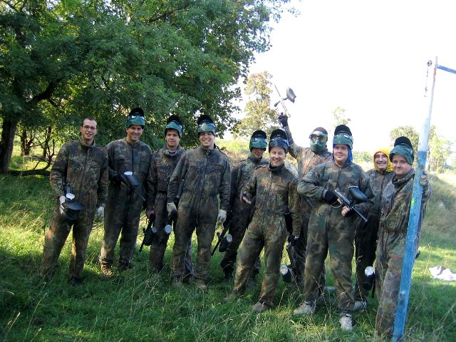 Budapest stag paintball