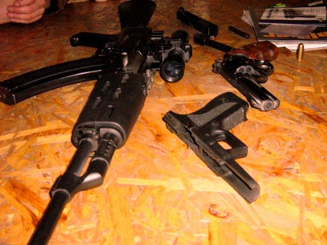 Shooting range guns