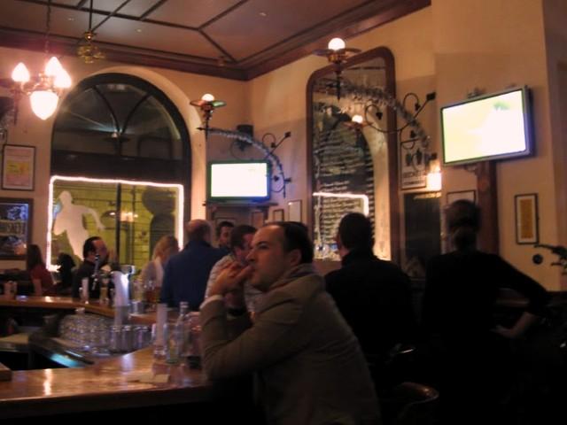 Budapest sports pub