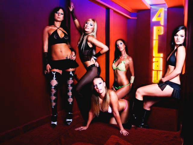 Strippers in the 4 Play Lounge