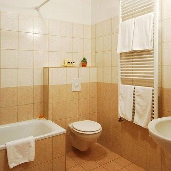 Photo of bathroom in 3 star Budapest apartment