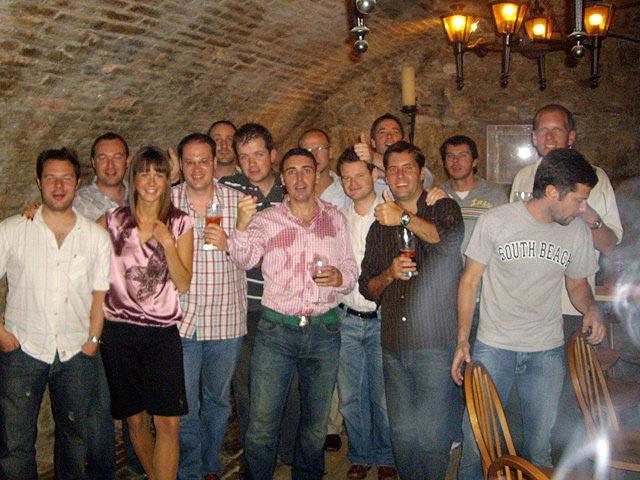 Budapest wine dinner