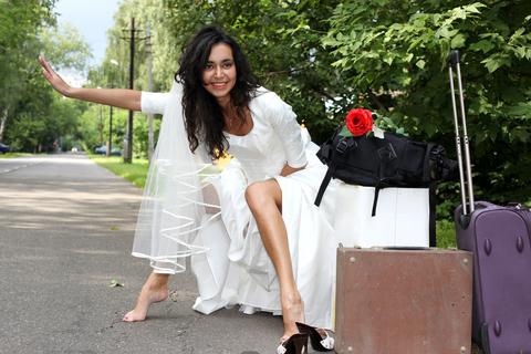 Fake Bride Stripper Prank