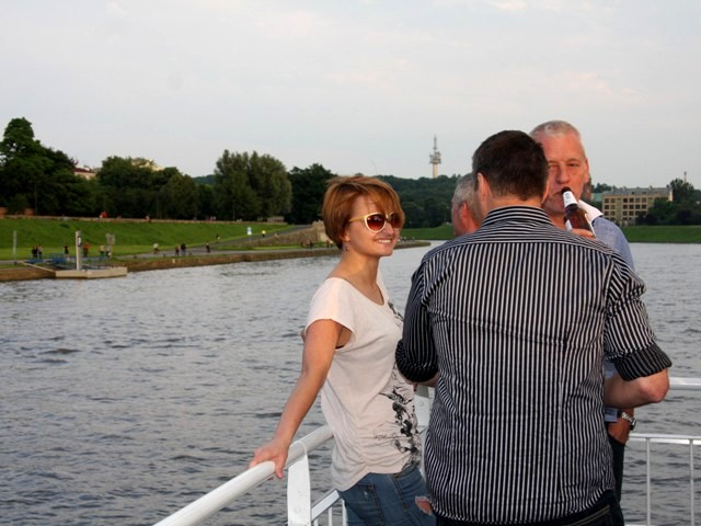 Krakow boat cruise