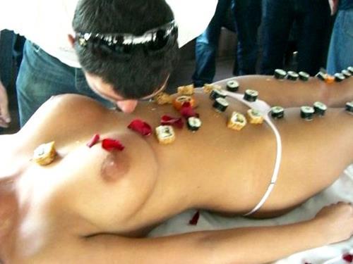 Naked Sushi Stripper in Krakow