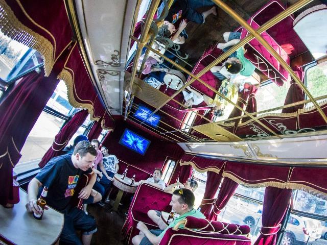 Krakow Vintage Party Tram