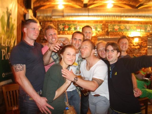 Krakow stag pub crawl