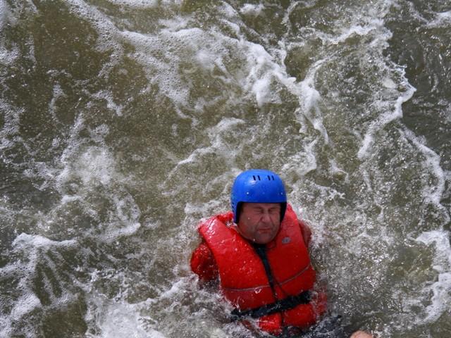 Krakow white water rafting