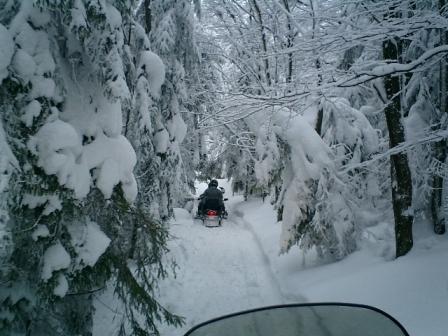 Krakow snowmobiles