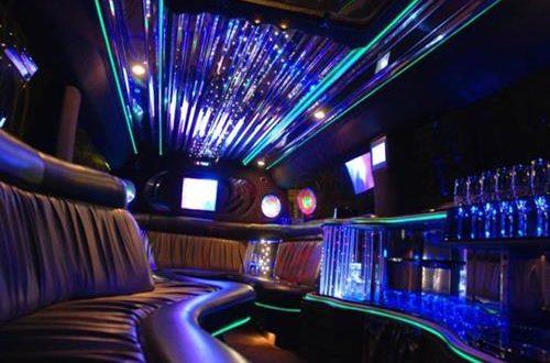 Hummer limo interior photo in Krakow