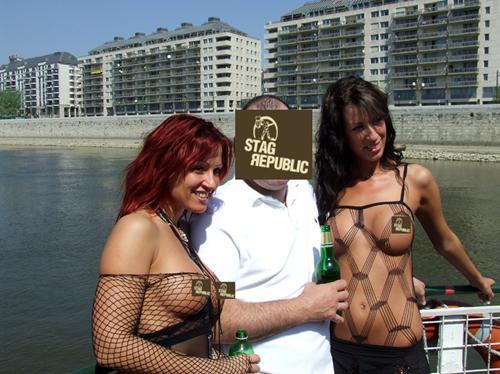 Budapest Topless Waitress
