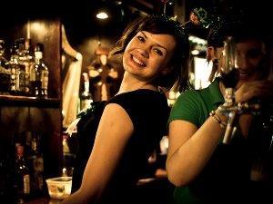 Krakow rep Sylwia in pub