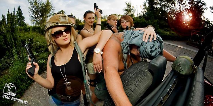 Krakow guides on shooting range - link to Krakow activities
