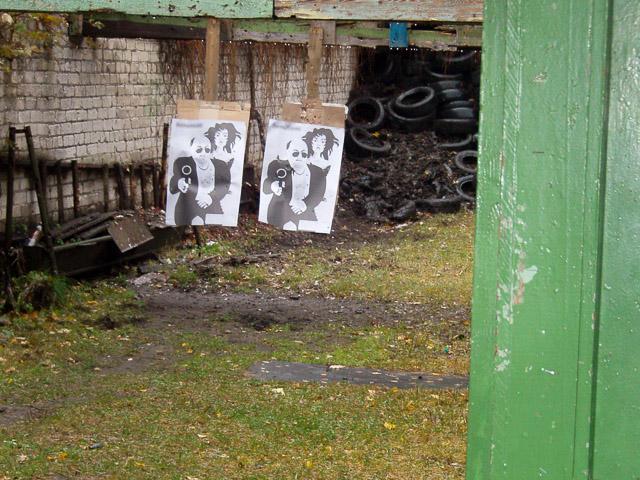 Shooting range in Riga