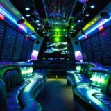 Inside the Budapest party bus