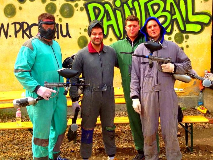 Paintballing in Budapest