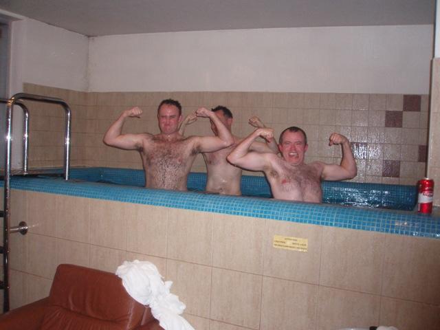 A stag sauna party in Riga