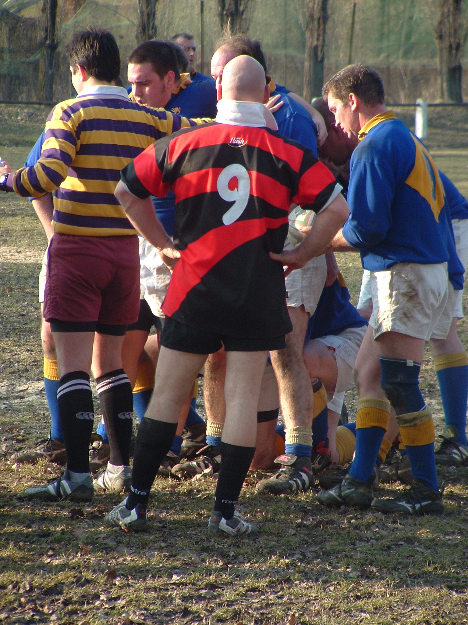 Rugby match Stag activity