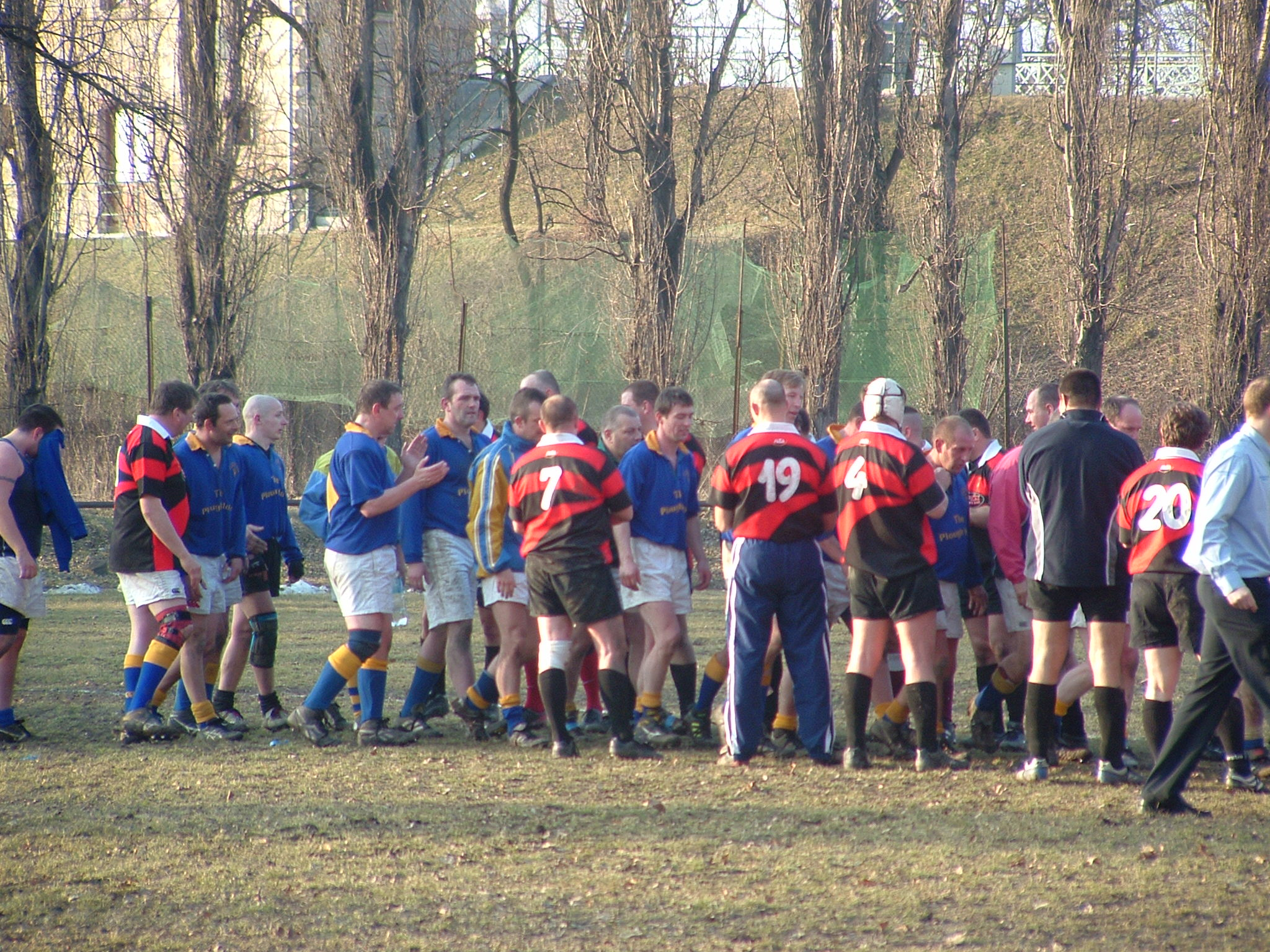 Rugby match European Stag Activity
