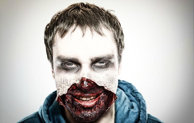 Stag night zombie