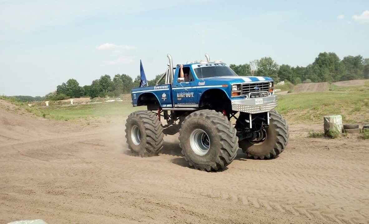 monster truck budapest