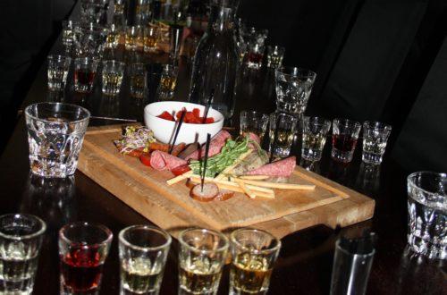 Polish vodka tasting