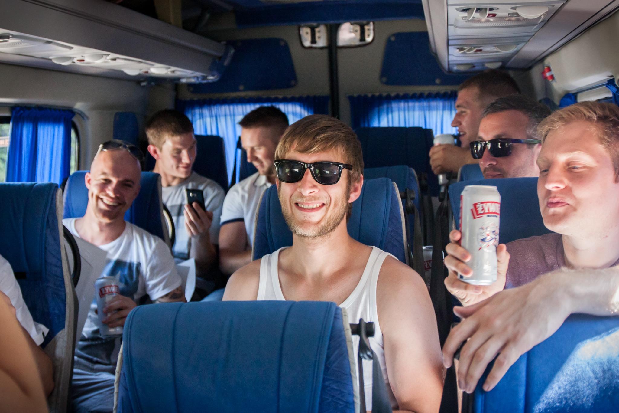 STag do Katowice airport transfers to Krakow