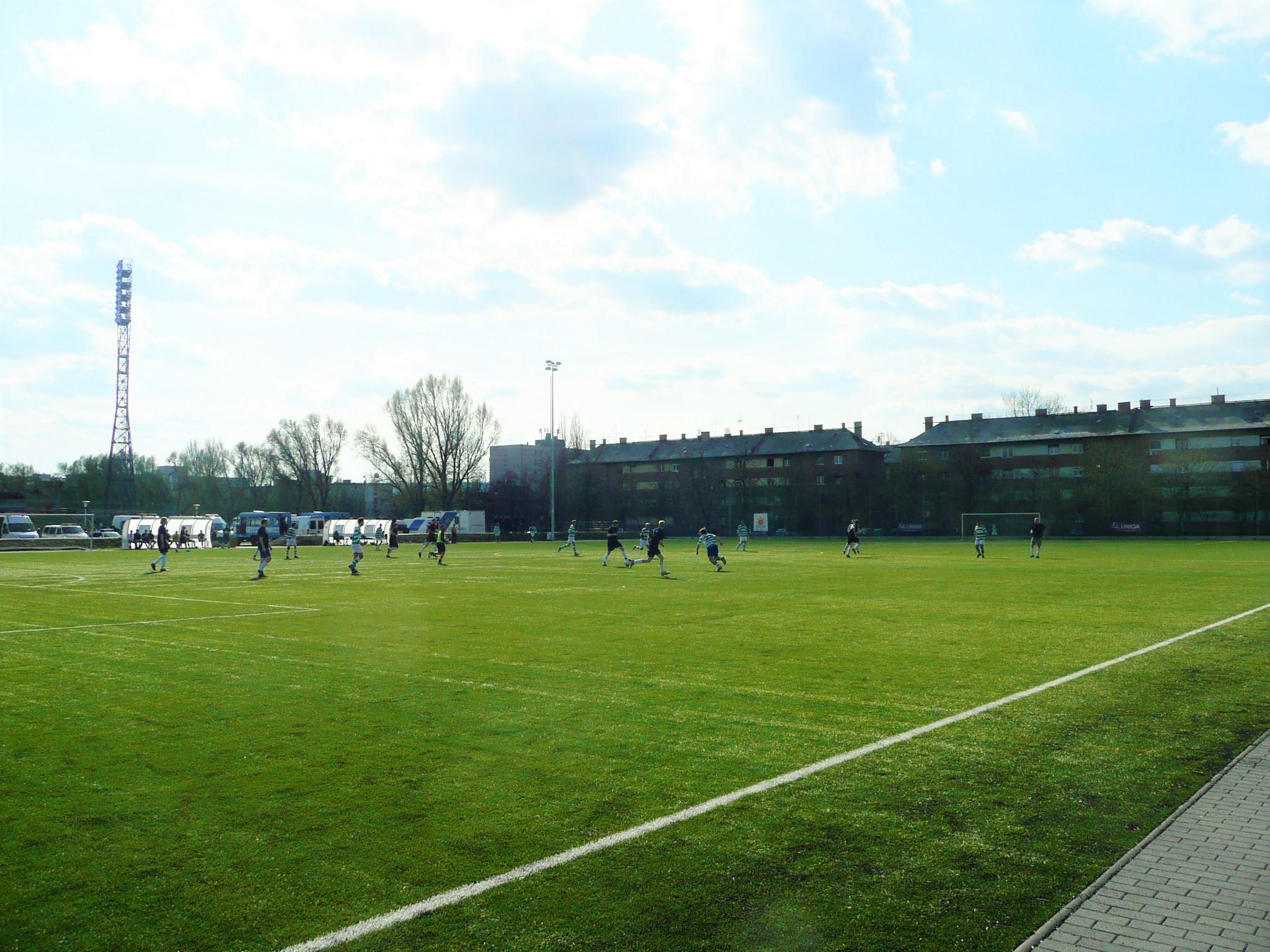 Local Football Match in Krakow
