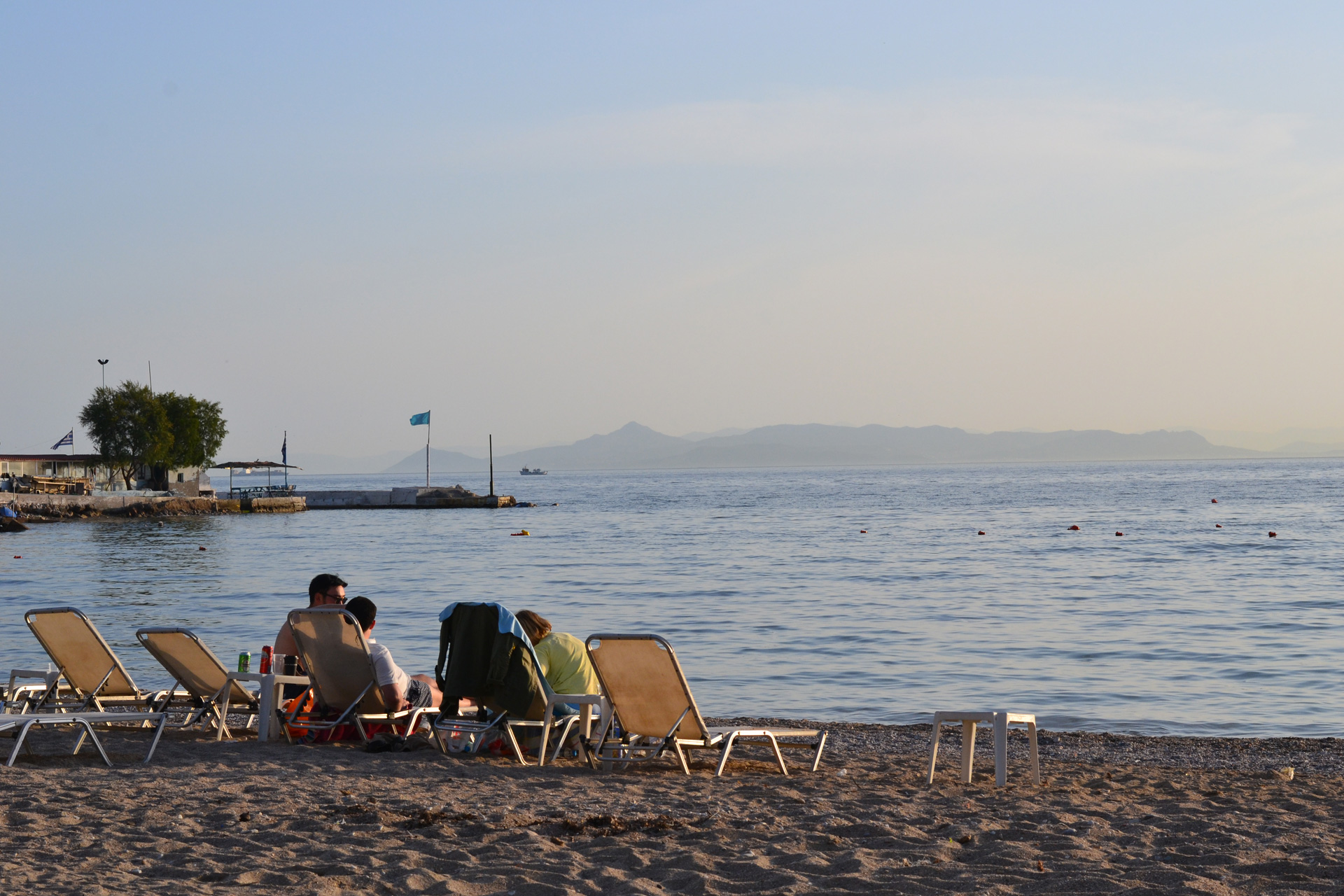 Athens Beach Afternoon