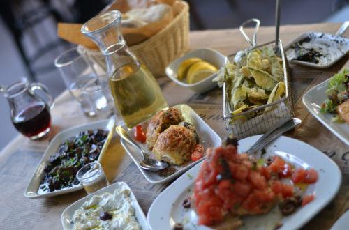 Classic Taverna Dinner Athens