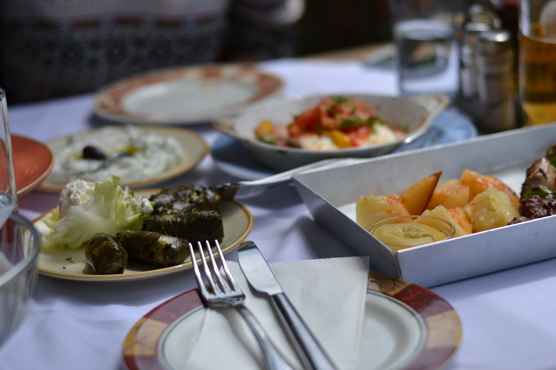 Athens Classic Taverna Dinner Activity