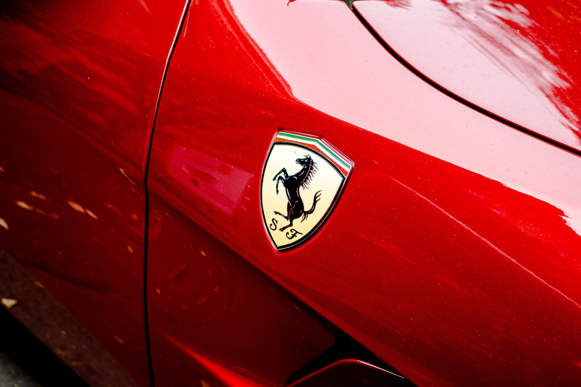 Athens STag Ferrari Driving