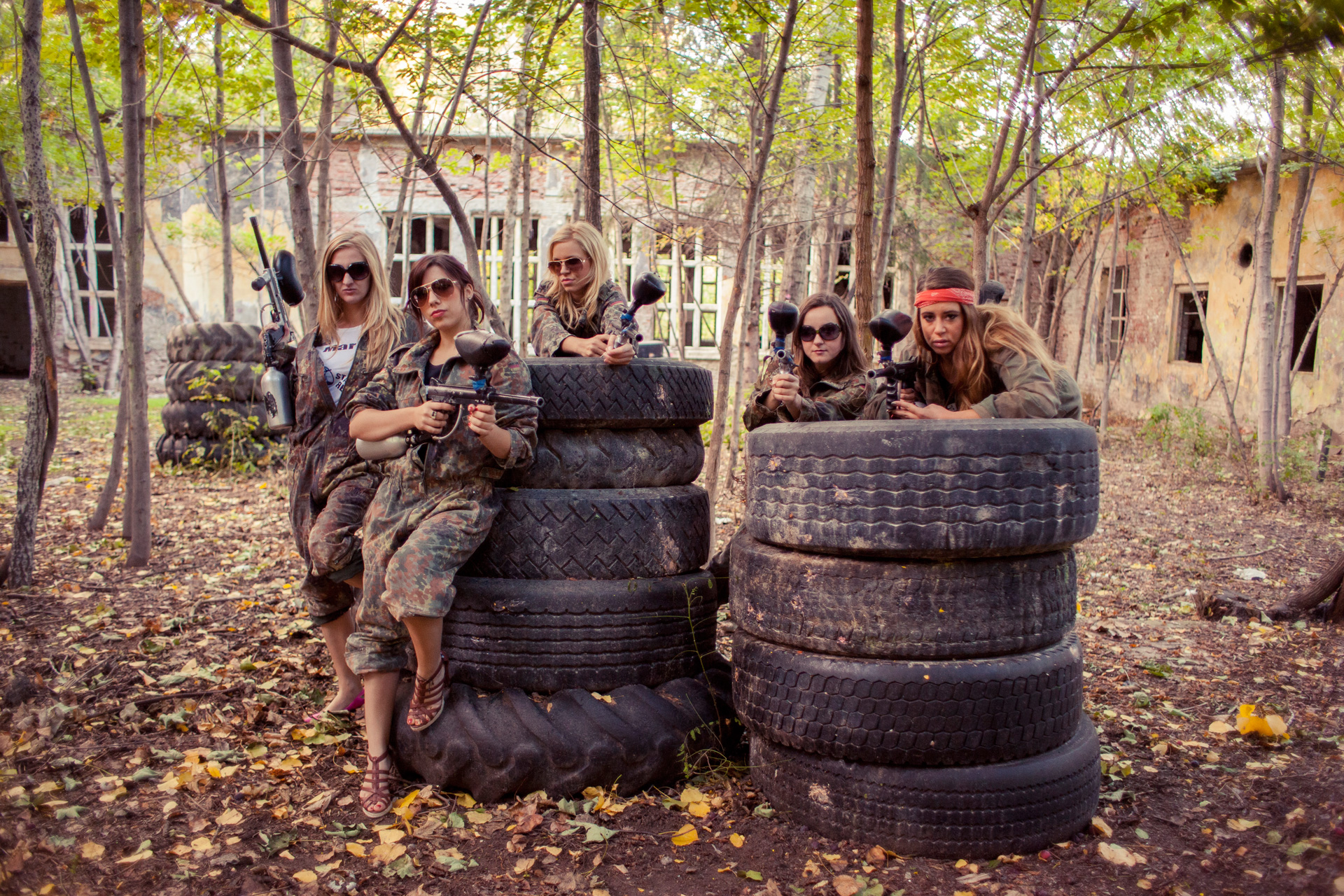 Athens stag do activities | Paintball